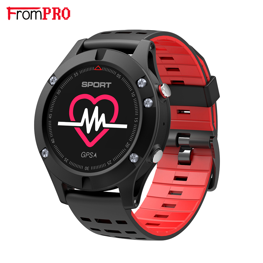 No 1 F5 GPS Smart Watch Heart Rate Monitor Multi Sport Altimeter Bluetooth Fitness Tracker Bracelet