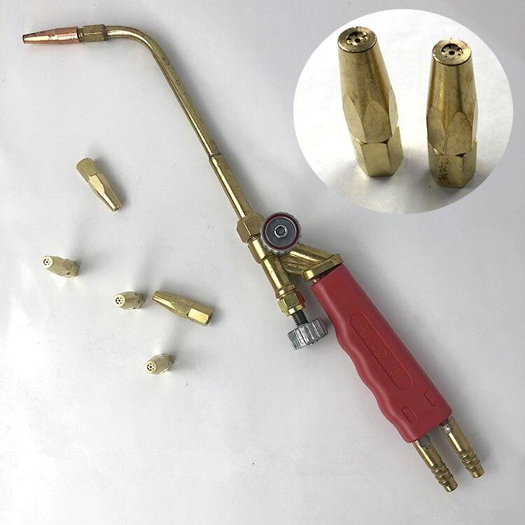 High-grade welding torch Gas welding tools Oxygen acetylene Portable propane welding gun