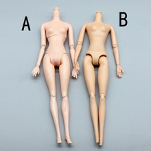 Birthday Gift DIY Kids Toy 12 Joints Doll Naked Body For Barbie Doll House For 1
