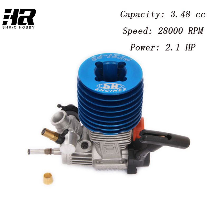 RC car 83012 SH21 SH 21 1/8 Nitro Race Engine Motor SH21 engine has a super power 3.48 cc m21-p3 HSP 1/8 methanol двигатель super tigre 18 nitro купить