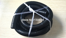 28mm Outer Diameter Convoluted Conduit Tube Wire Loom Harness 5M Long