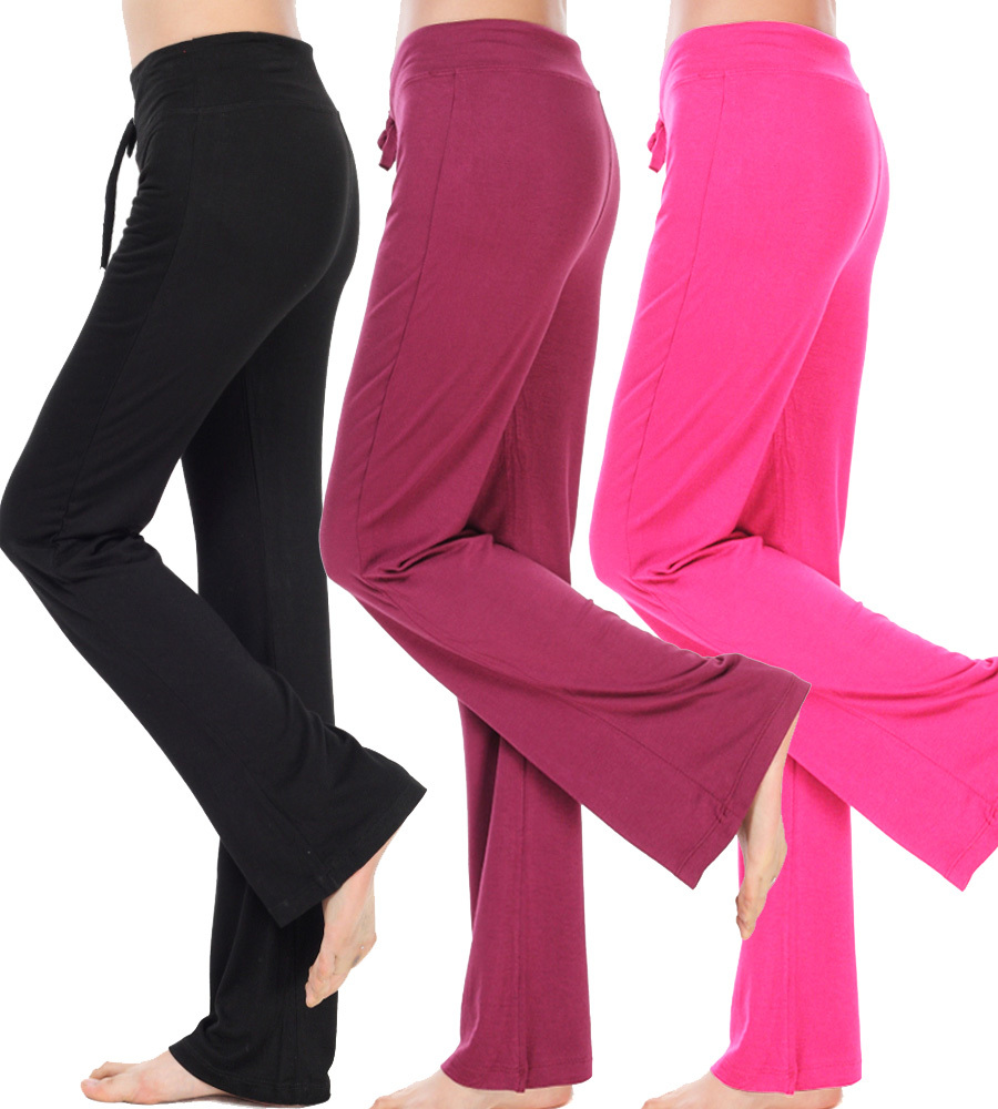 New Cotton Spring Plus Size Stretch Drawstring Yoga Pants Square Dance Clothes Sports Fitness Modal Bloomers Women Harem Pants