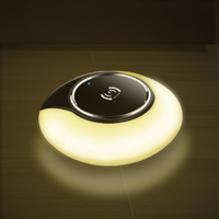 Adjustble Night Light QI Wireless Phone Charger Universal 5V 2A 10W Fast Charge Charging For Iphone