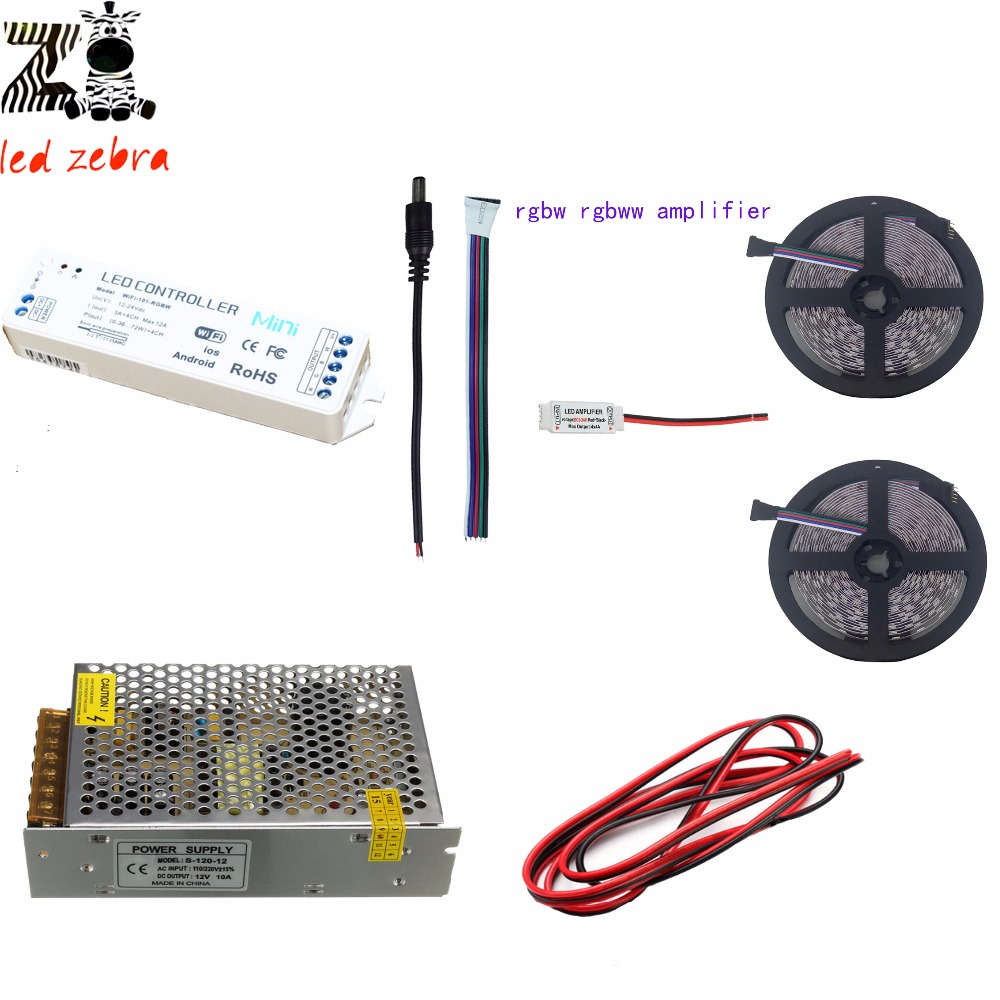 5m20m 5050smd Rgbw Rgbww Led Strip Light Ltech Mini Wifi Controller With Rgb Lifier On Smd 5050 Strips Wiring Diagram 12v Power Transformer Amplifier 2pin Wire In From Lights