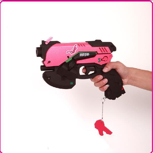 Novelty & Special Use D.va Gun And Headset For Cosplay Pvc Pink D Va Gun Dva Headset Dva Earphone For Exhibition Costume Props