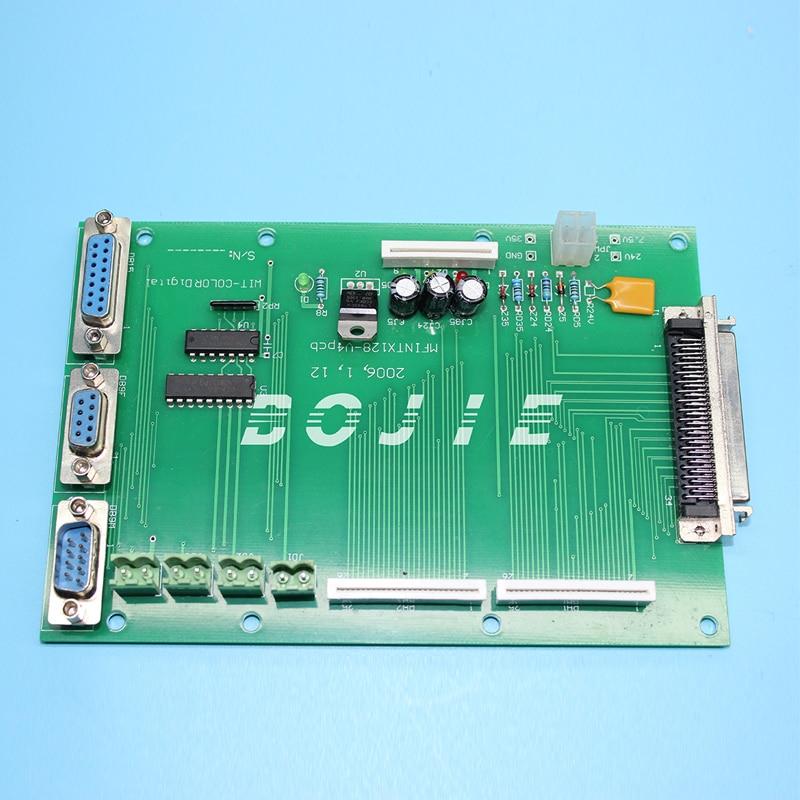 Wit color 720 printer parts terminal pcb board