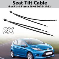 Car Left/Right Hand Seat Tilt Adjuster Cable Fits For Ford For Fiesta MK6 2002 2012 Black High Quality