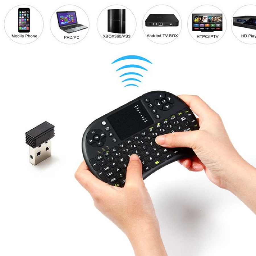 Backlit UKB 500 Mini USB Wireless Keyboard Backlight Touchpad Air Mouse Fly Mouse Remote Control for
