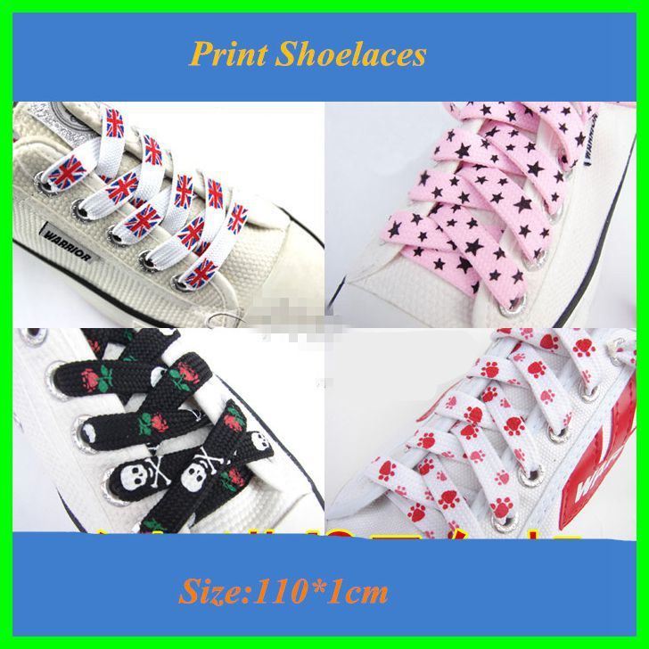 2018 New Cute Colorful Cavans Shoelaces Wide Flat Shoe Laces Polyester Printed Shoe Lacet 5 Pairs For Sale semi circle multicolour shoelace two tones cavans shoe laces elastic men s shoes lacet 110cm length 10 pairs on sale