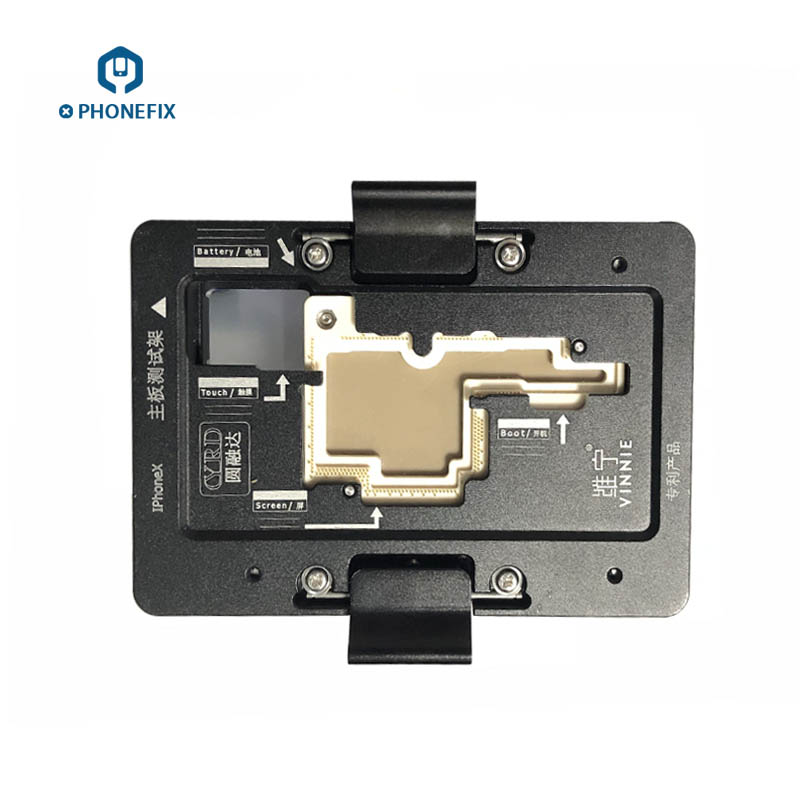 WL iSocket Jig for iPhone X PCB Motherboard Test Holder Fast Folded Two Halves Logic Board