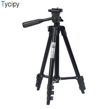 Tycipy Professional SLR Digital Camera Aluminum Alloy Tripod Projector Level Selfie Phone Macro Portable Adjustable For Outdoor(China)