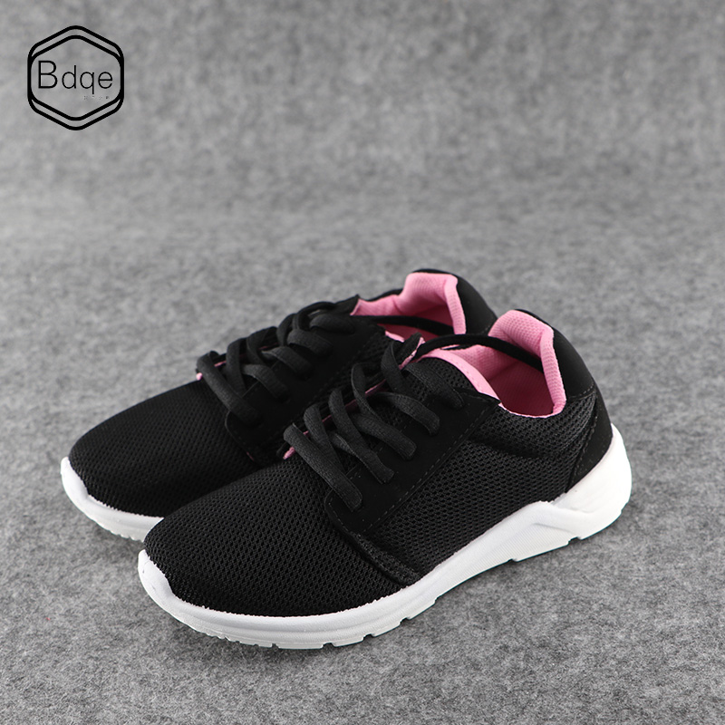 BDQE Summer girls shoes single mesh breathable primary school sports shoes girls travel wave shoes casual children running shoes in Sneakers from Mother Kids
