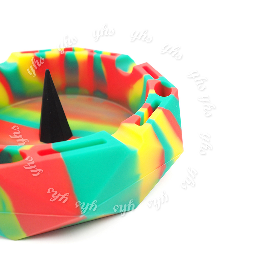 NEW 5pcs Magic Fingertip Finger Stall Colorful Thimble Surprise Tricks Cups MI