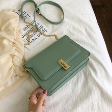 Crossbody Bags For Women 2019 Candy Color Handbags Simple Messenger Bags For Girls Sac A Main Ladies Shoulder Bag Cross Body New simple candy colour and metal design crossbody bag for women