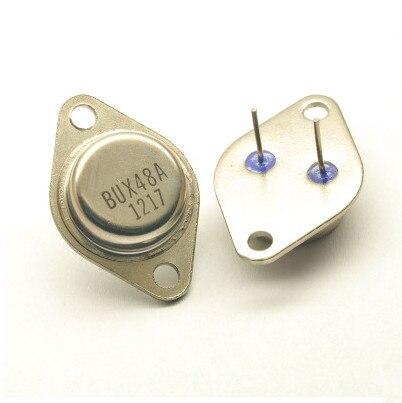 무료 배송 20 pcs npn 실리콘 파워 트랜지스터 bux48 bux48a 15a 450 v TO 3P