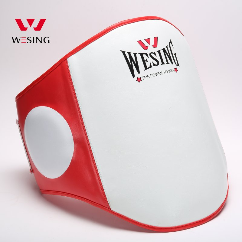 Wesing thickness belly pad waist protector for MMA BOXING MUAY THAI BOXING TAEKWONDO TRAINING jduanl muay thai boxing waist training belt mma sanda karate taekwondo guards brace chest trainer support fight protector deo