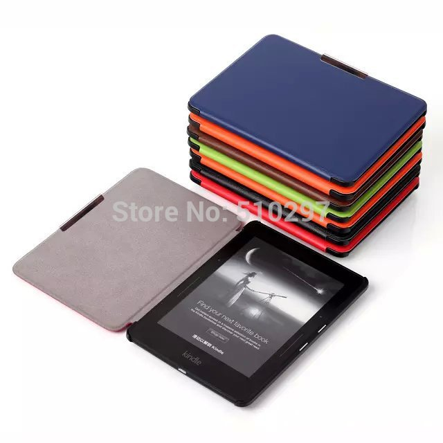 cy fashion slim mag ic smart case metal clasp book cover