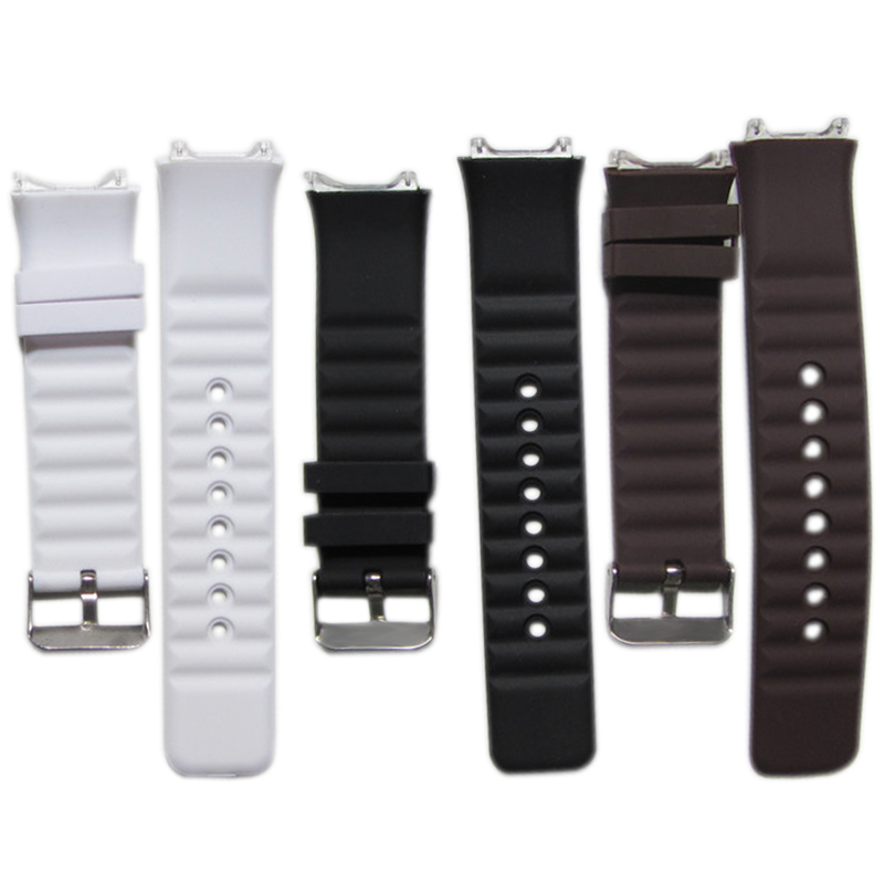 Watchband Silicone Rubber Bands EF Replace Electronic Wristwatch Band Sports Watch Straps For DZ 09 Watch AIC88