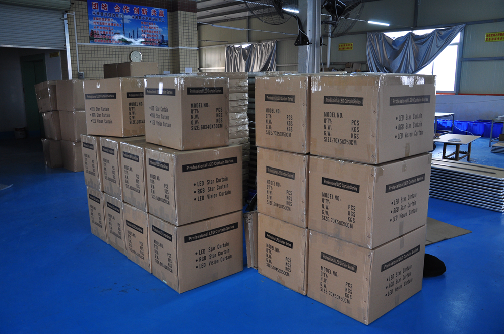 TIPTOP P18 3M * 5M LED video zavesa s krmilnikom Off Line za ozadja - Komercialna razsvetljava - Fotografija 2