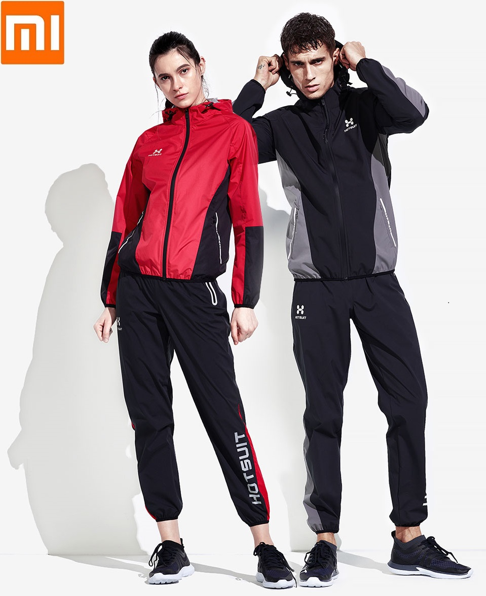 Xiaomi profession Sweating men women Reflective Skin friendly Loose Sports running sweat Fitness Long sleeve trousers