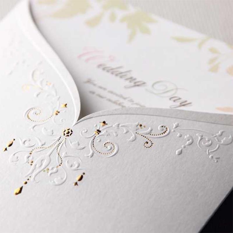 New Design Pocket Elegant Bride Groom Wedding Invitations Kit ...
