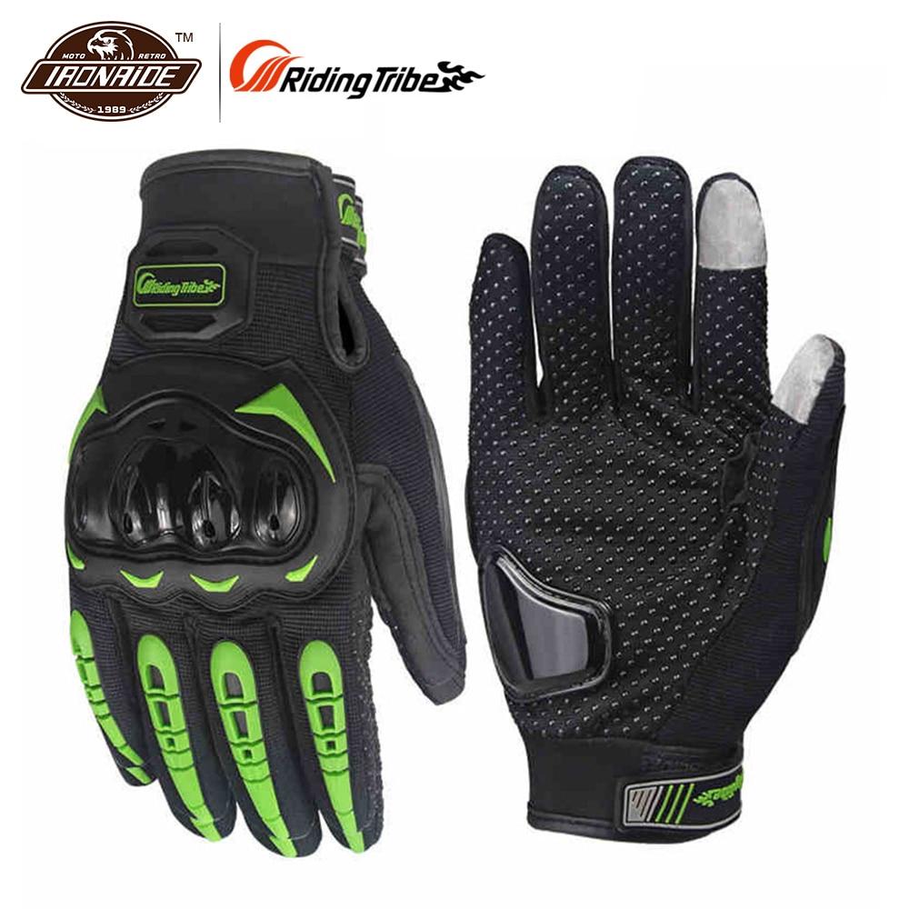 Reiten Tribe Motorrad Handschuhe Männer Frauen Winter Sommer Guantes Moto Gants Luvas Touchscreen Motocross Handschuhe Schutz Getriebe