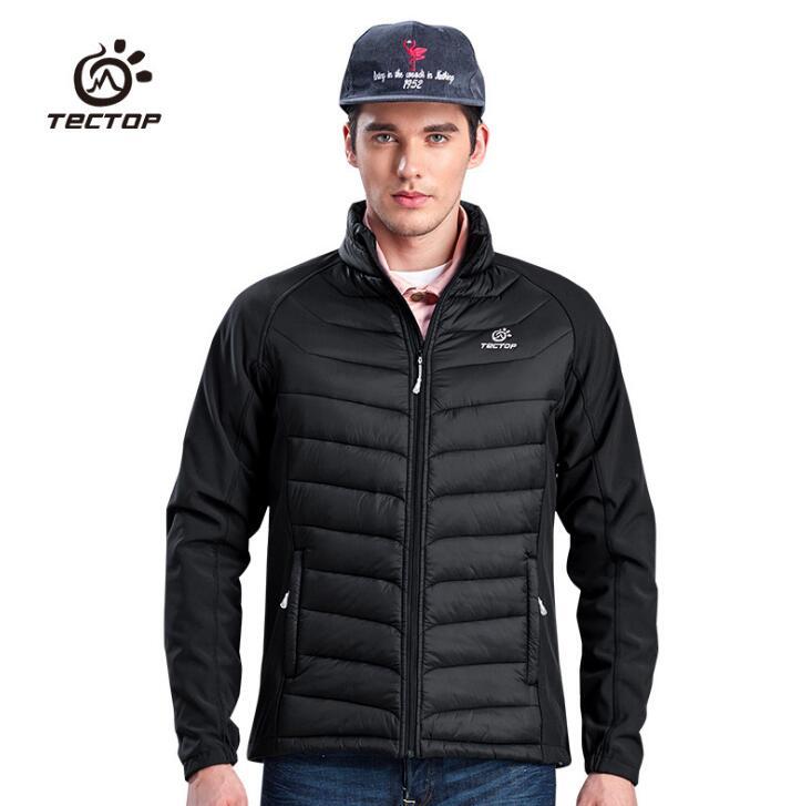 TECTOP hiver épais chaud coton rembourré vestes hommes plein air Sport Camping randonnée coupe-vent imperméable thermique manteaux