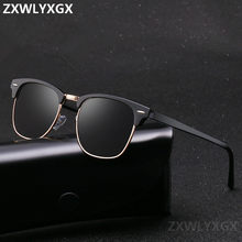 Óculos de sol polarizado, óculos de sol clássico unissex, polarizado, espelhado, retrô, de alta qualidade