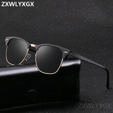 Classic Polarized Brand Designer Sunglasses Men Women Retro High Quality Sun Gla