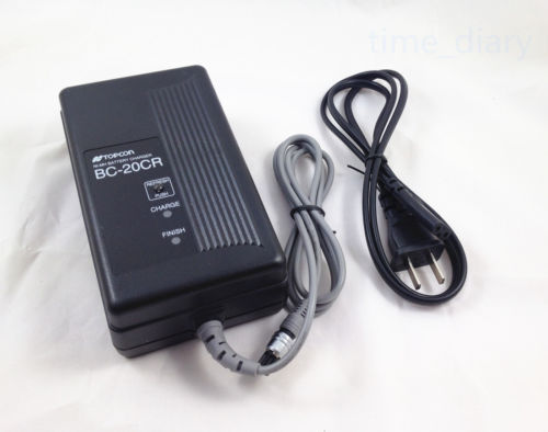 NEW TOPCON BC-20CR CHARGER FOR Topcon BT-24Q/BT-30Q Battery (2PIN CHARGER)NEW TOPCON BC-20CR CHARGER FOR Topcon BT-24Q/BT-30Q Battery (2PIN CHARGER)