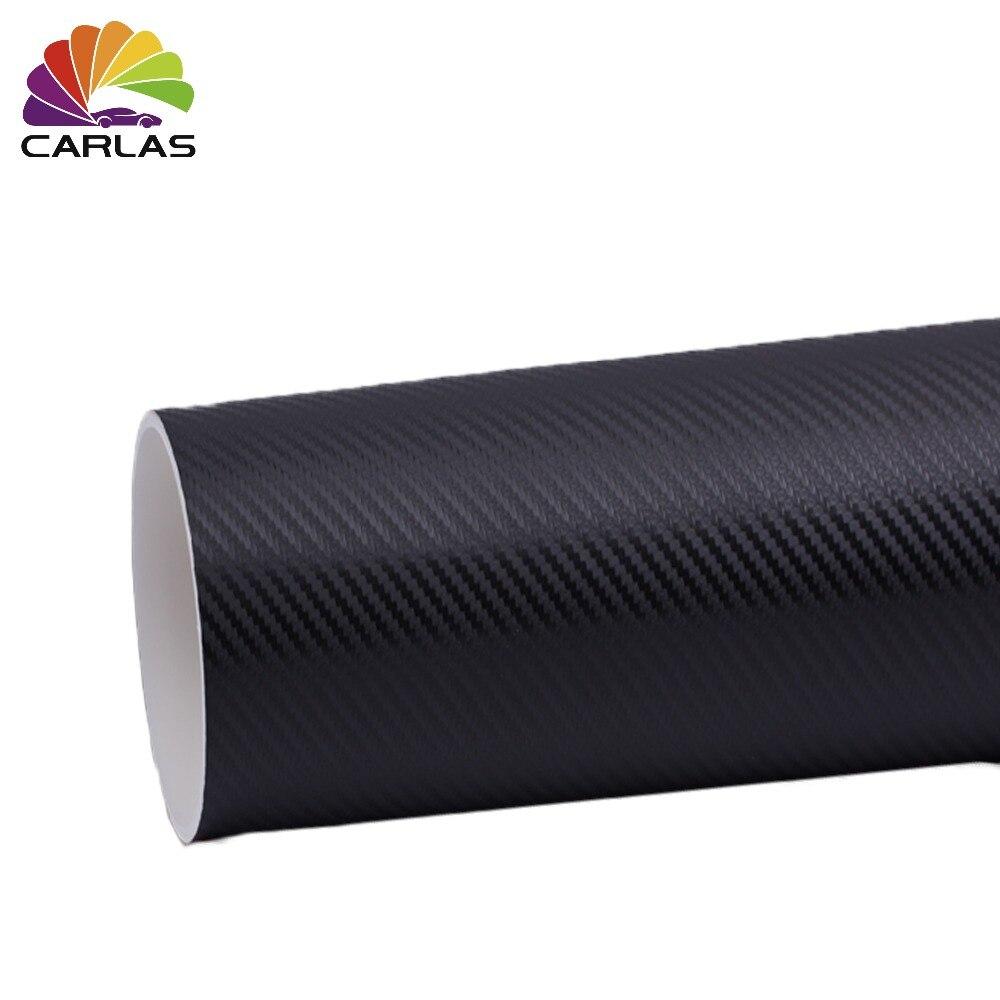 1.52*30M 3D carbon fiber vinyl car envelope film car sticker decal motorcycle car styling accessories