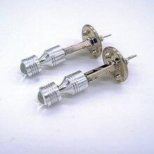 2 шт. автомобильный H1 30 Вт 6SMD светодиодный Белый противотуманный светильник для вождения авто дневной ходовой светильник DRL лампа DC12V