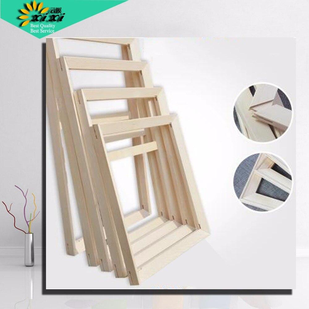 Costume pour Toutes sortes de bricolage peinture à l'huile civière Convexe cadre en bois peinture murale cadre photo Photo porte Image D cadres