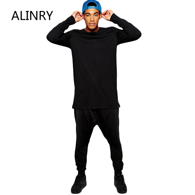 2017 New arrival sportswear cotton black red white simple colors men sportsweater fashion long sleeve O-Neck collar men clothes