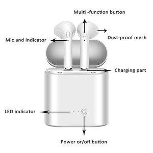 Image 3 - I7s TWS écouteurs air Mini sans fil Bluetooth écouteur stéréo écouteurs micro pour Iphone Xiaomi tous les téléphones intelligents i10 i12 i9s