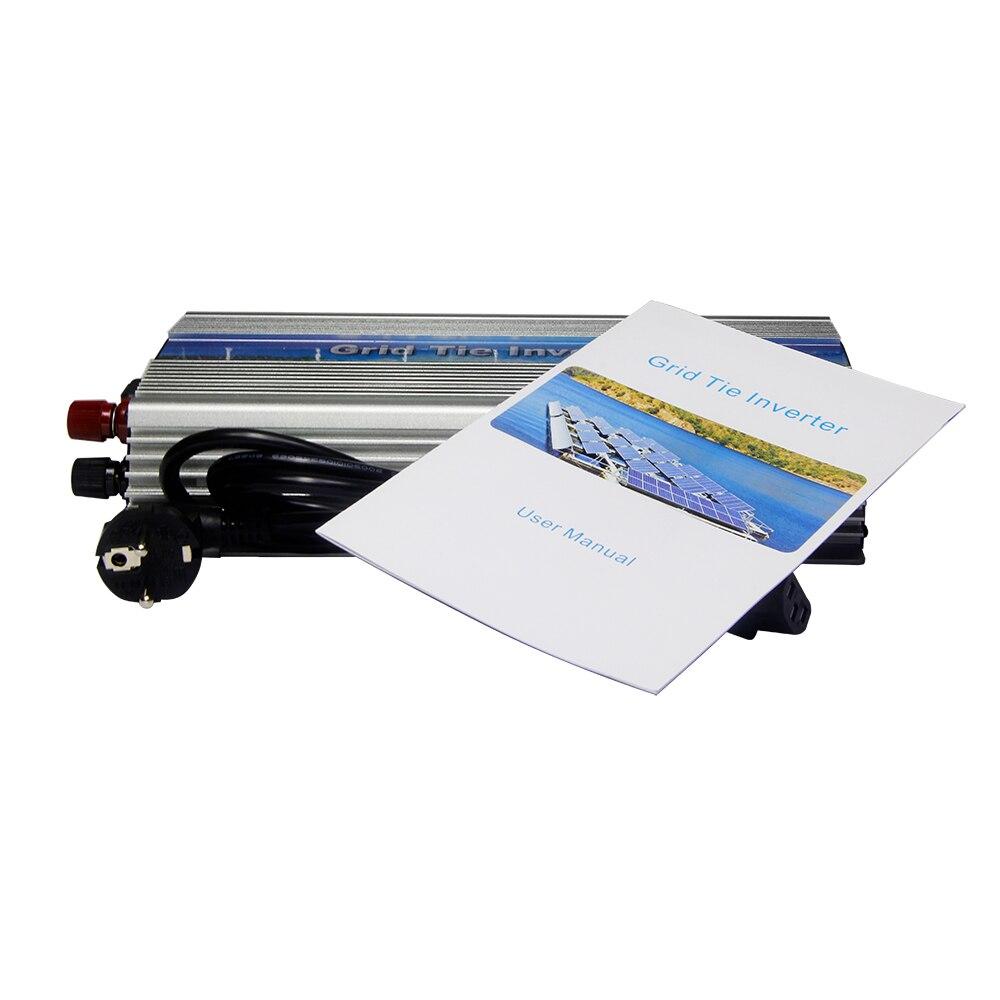 MAYLAR@ 22-50Vdc 2PCS 1000W Pure Sine Wave Solar On Grid  Inverter, Output 90-140V.grid tie inverter For Solar Energy