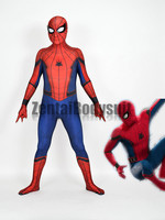 Spider Man Homecoming Suit Captain America Civil War Spiderman Cosplay Costumes