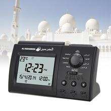 Automatic Digital Clock Islamic Azan Muslim Prayer Alarm Clock for Desktop Table Clock Home Decoraions 1pcs lot muslim automatic fajr alarm watch ha 6506bb