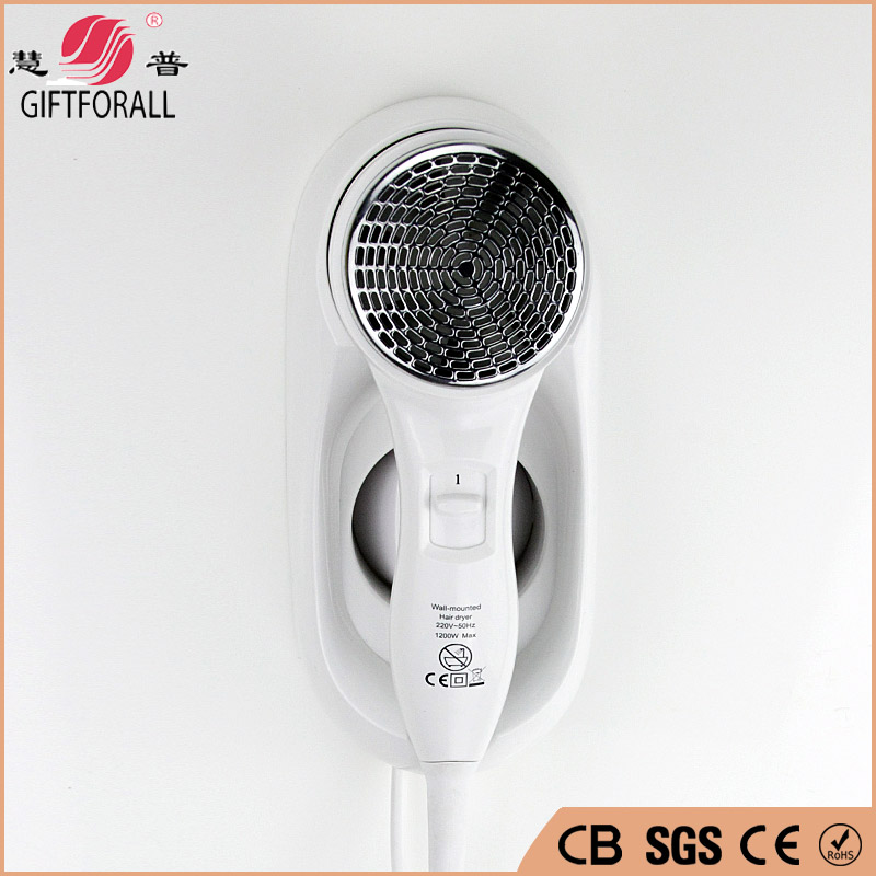 GIFTFORALL Mini Wall Mounted Hair Dryer Productos De Peluqueria Professional Salon Hair Dryer For Hotel And Household 67220-3 giftforall hair dryer hotel bathroom home professional hair salon powerful wall mounted portable mini hairdryer d139 d