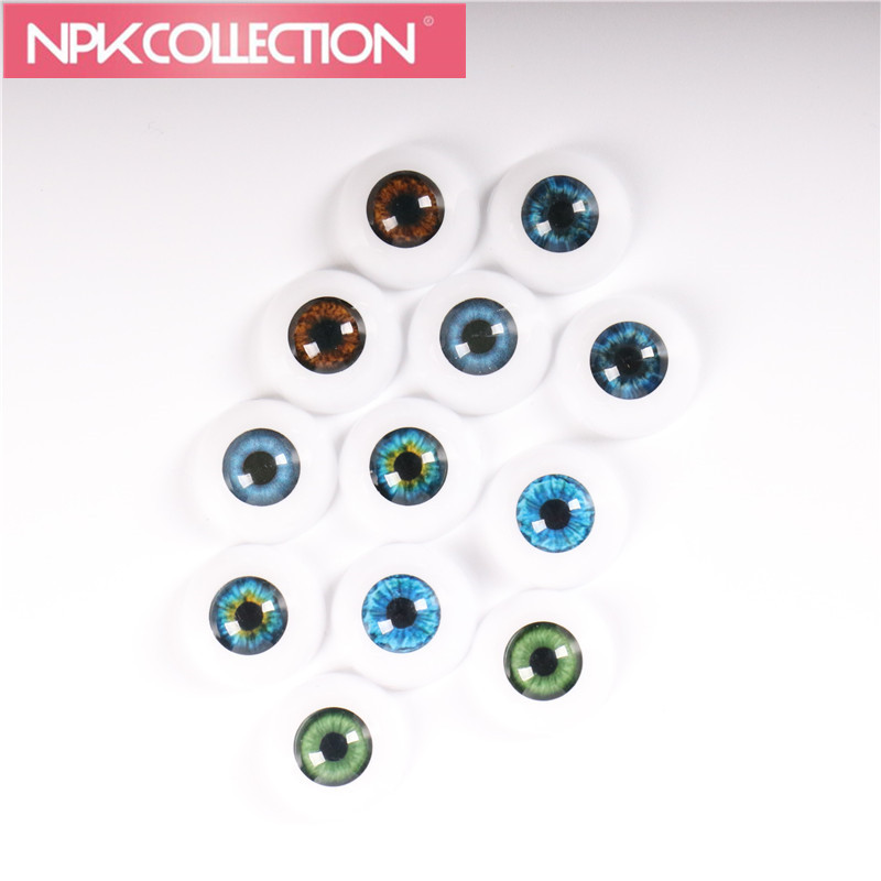 2 pairs Fit for 20 Inches Reborn Babies Doll Kits 20 mm Half Round Toys Eyes Acrylic Doll Eyes 6 Different Colors Can Be Chosen abbyfrank eyes bjd doll acrylic eyeball eyes 1 pair 1 3 1 4 1 6 14mm 16mm 18mm half round eyeball for doll accessories kids toys