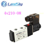 4V210-08 5 Way 2 Position Pneumatic Solenoid Valve 1/4