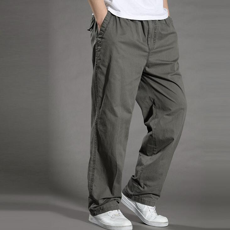 Summer time Males's Plus Dimension Clothes 4XL 5XL 6XL Cargo Pants Massive Tall Males Informal Many Pockets Free Work Pants Male Straight Trousers Cargo Pants, Low-cost Cargo Pants, Summer...