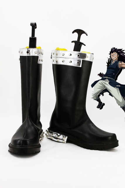 b6edac6803d08 Fairy Tail ajeel Reitfox Cosplay Boots Anime Party Shoes-in Shoes ...
