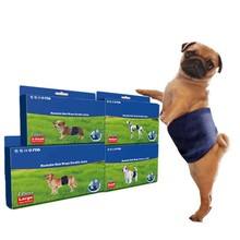 ПЭТ моющиеся подгузники полосы для собак мальчиков мужчин, Премиум Многоразовые мужские собаки обмотка вокруг живота
