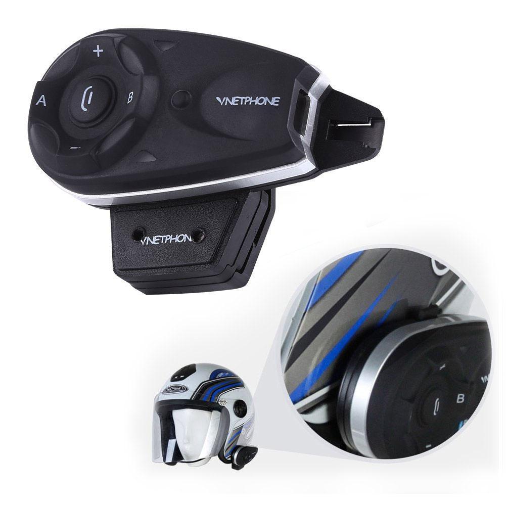 V5 casque de moto en Duplex Bluetooth interphone écouteur soutien 5 utilisateurs bonne qualité