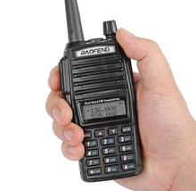 3 adet baofeng UV 82 walkie talkie 2800 mAh pil uzun bekleme avcılık için radyo walkie talkie UHF VHF BF-UV 82 radyo alıcı-verici