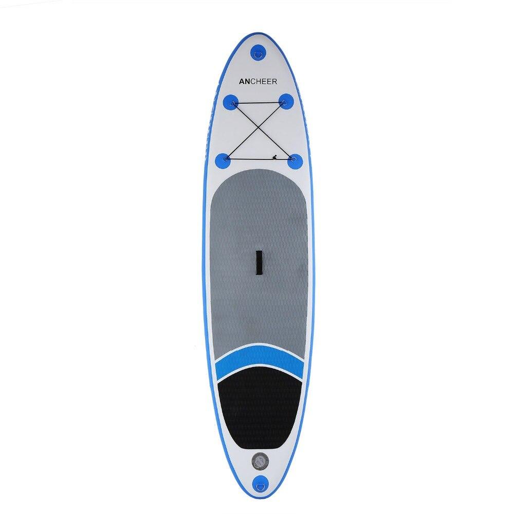 Серфинг надувные 10ft весло доски iSUP с регулируемым весло рюкзак ручной насос встать