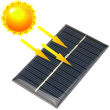 Panel Solar Mini 6V 110Ma Solar Power System DIY For Battery Cell Phone Chargers Portable Solar Panel Cells solar panel
