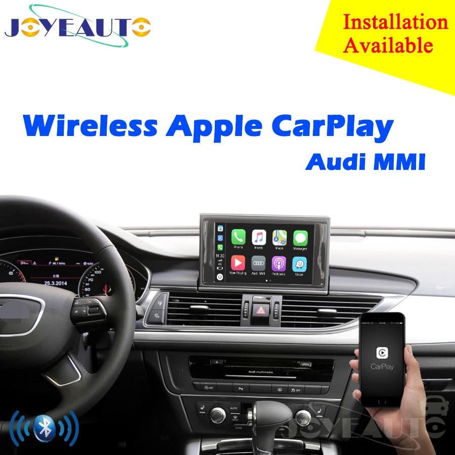 Aftermarket OEM Senza Fili di Apple CarPlay A1 A3 A4 A5 A6 A7 A8 Q2 Q3 Q5 Q7 MMI per Auto Audi gioco Android Auto Specchio della Macchina Fotografica di Inverso