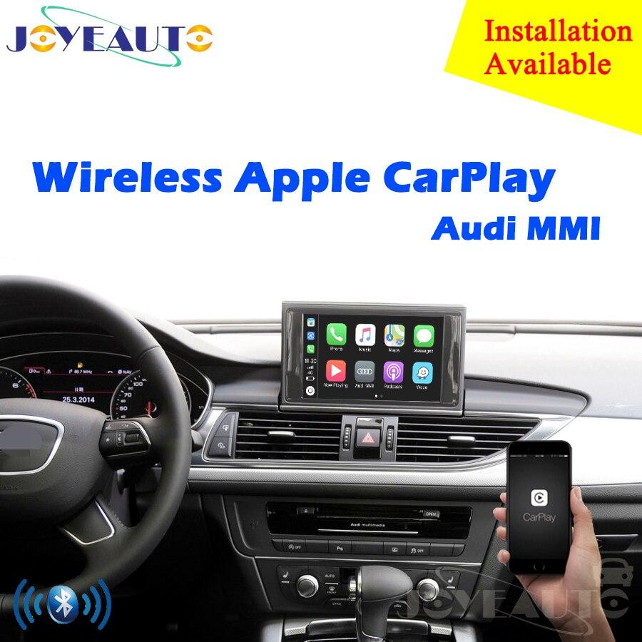 Aftermarket OEM Sans Fil Apple CarPlay A1 A3 A4 A5 A6 A7 A8 Q3 Q5 Q7 MMI Solution Rénovation avec caméra de recul pour Audi